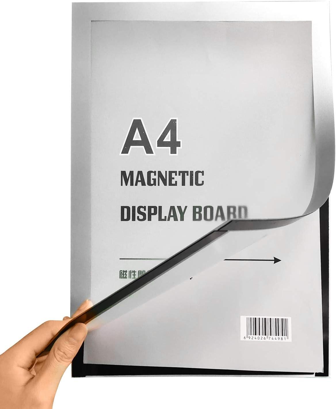 biadesivo e adesivo per espositore da parete//porta//frigorifero//mobile Durevole cornice per display magnetica autoadesiva cornice per foto in plastica