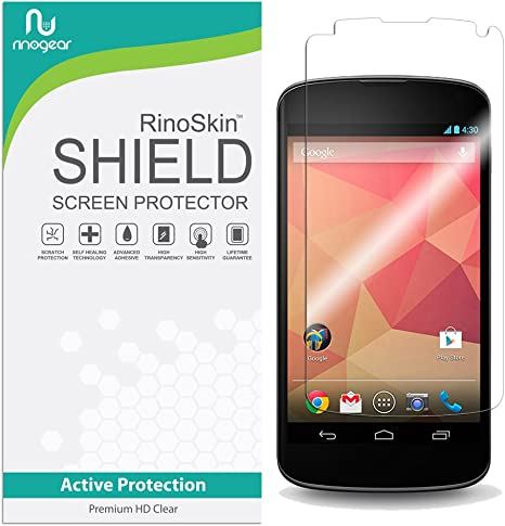 LG Google Nexus 4 E960 AT/&T Premium Tempered Crystal Clear Glass Screen Protector for LG Nexus 4 T-Mobile Kastar Nexus 4 Screen Protector Verizon Smartphone--Supper Fast and from USA 50-PACK Sprint