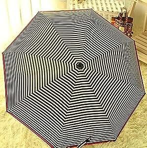 fd3293resistente al viento anti UV Clear/racha de lluvia coreano Princess plegable paraguas nuevo