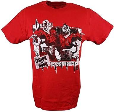cbe142c3192 The Road Warriors Legion of Doom WWE Legends Mens Red T-Shirt-S