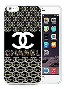 Fashion And Beautiful Custom Designed With CHANEL Logo Cover Case For iPhone 6 Plus 5.5 Inch Phone Case 13 White