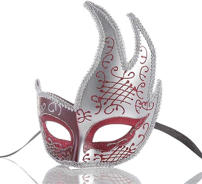 Amazon.com: LUKALUKADA Girls Masquerade Masks Half Face ...