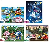 Robocar Poli Puzzle Bag (Exciting Camping, 4 Puzzle Set)