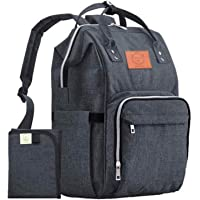 Baby Diaper Bag Backpack - Multi-Function Waterproof Travel Baby Bags for Mom, Dad, Men, Women - Large Maternity Nappy…