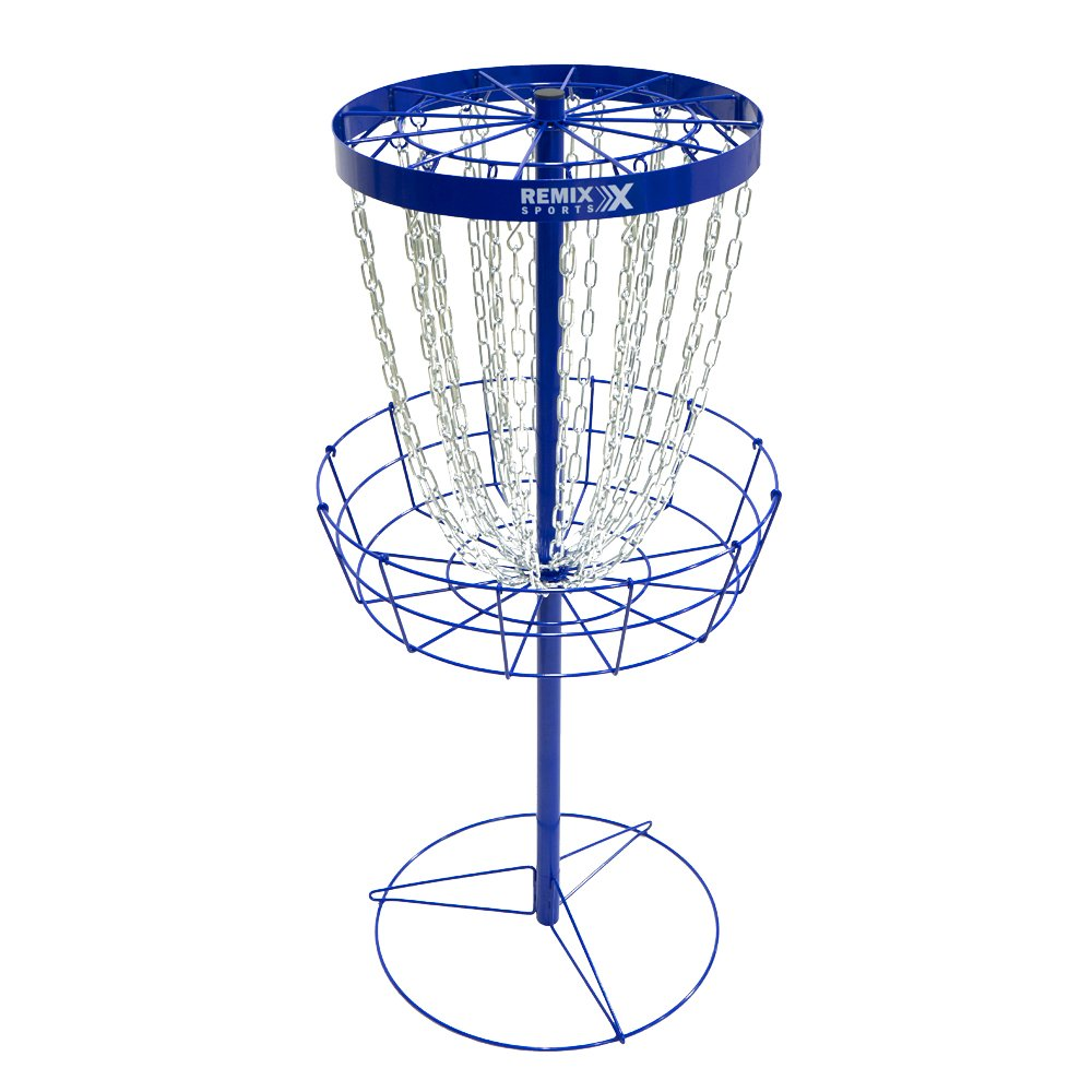 ReMix Deluxe Basket (Royal Blue) by Remix Disc Golf