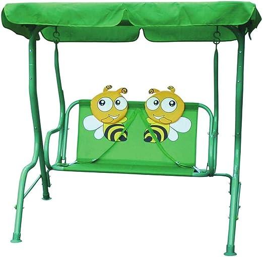 Spiel AG - Columpio balancín para niños con cinturón de Seguridad, diseño de Abeja: Amazon.es: Jardín