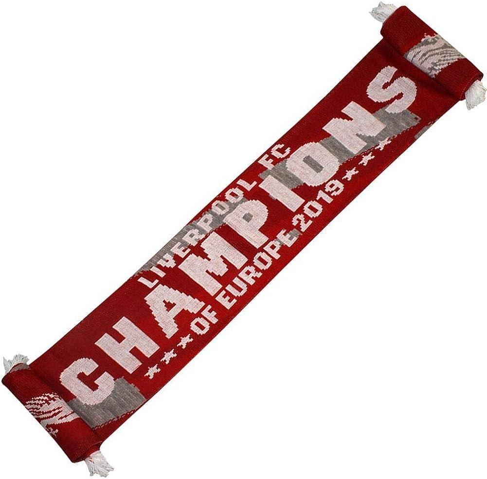 Liverpool 2020 Premier League Champions Scarf 100/% Acrylic