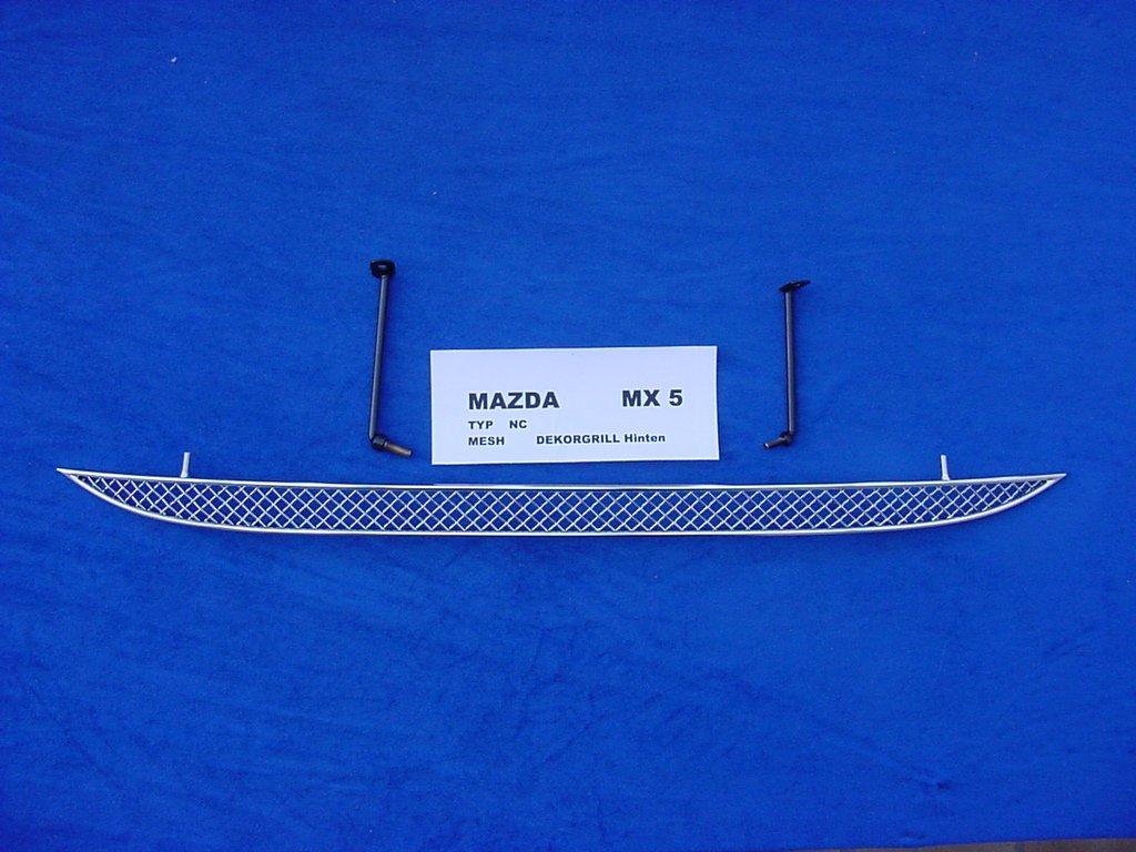 2005/ Mazda MX5/NC acero inoxidable enfriador parrilla trasera 1/piezas /2009