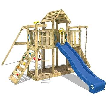 Wickey Spielturm Little Robin Kletterturm Mit Schaukel Und Rutsche