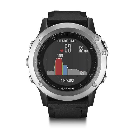 e7dcc14a615b Garmin Fenix 3 HR - Reloj multideporte con GPS y sensores ABC