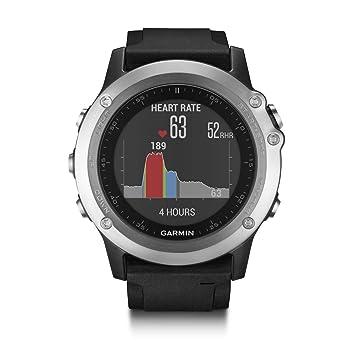 ec36e4501917 Garmin Fenix 3 HR - Reloj multideporte con GPS y sensores ABC