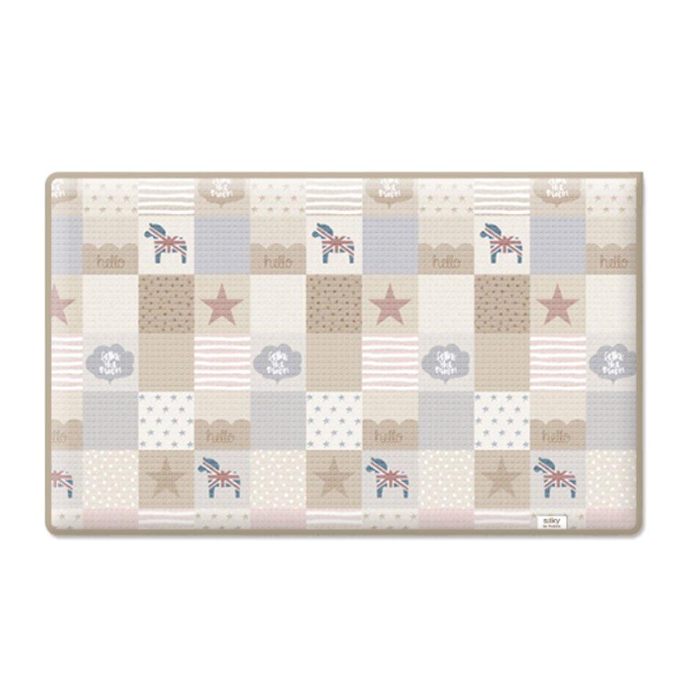 大特価!! Parklon B076MTWJS6 Patch Work Work Baby Playmat ベビージム Playmat プレイマット [海外並行輸入品] (XL (270*140*1.6CM)) XL (270*140*1.6CM) B076MTWJS6, おかきのげんぶ堂:feee1ac7 --- classikaplus.ru