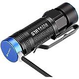 OLIGHT(オーライト) S1R Baton LED懐中電灯 900ルーメン 小型軽量 充電式 フラッシュライト XM-L2灯玉搭載 ハンディライト 電池 CR123A/ RCR123A