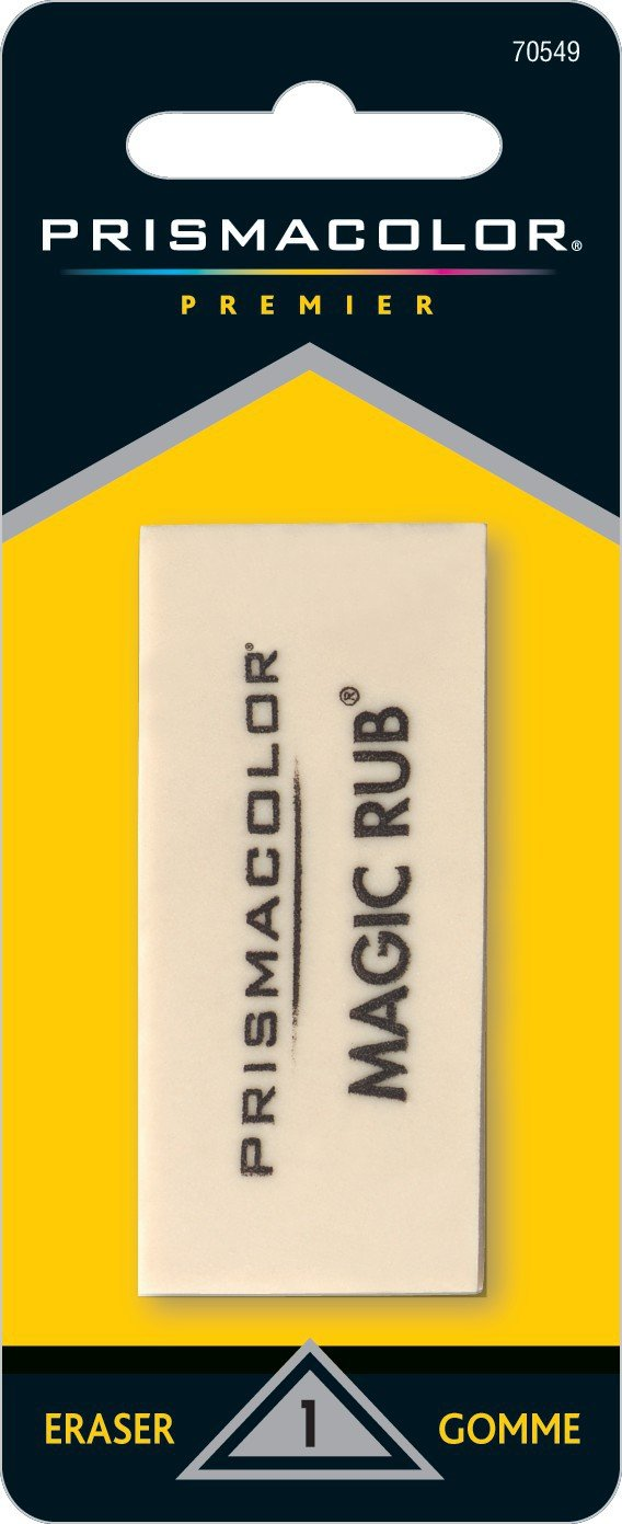 Sanford Prismacolor Premier Magic Rub Vinyl Eraser, 1 Pack Notions - In Network 70549