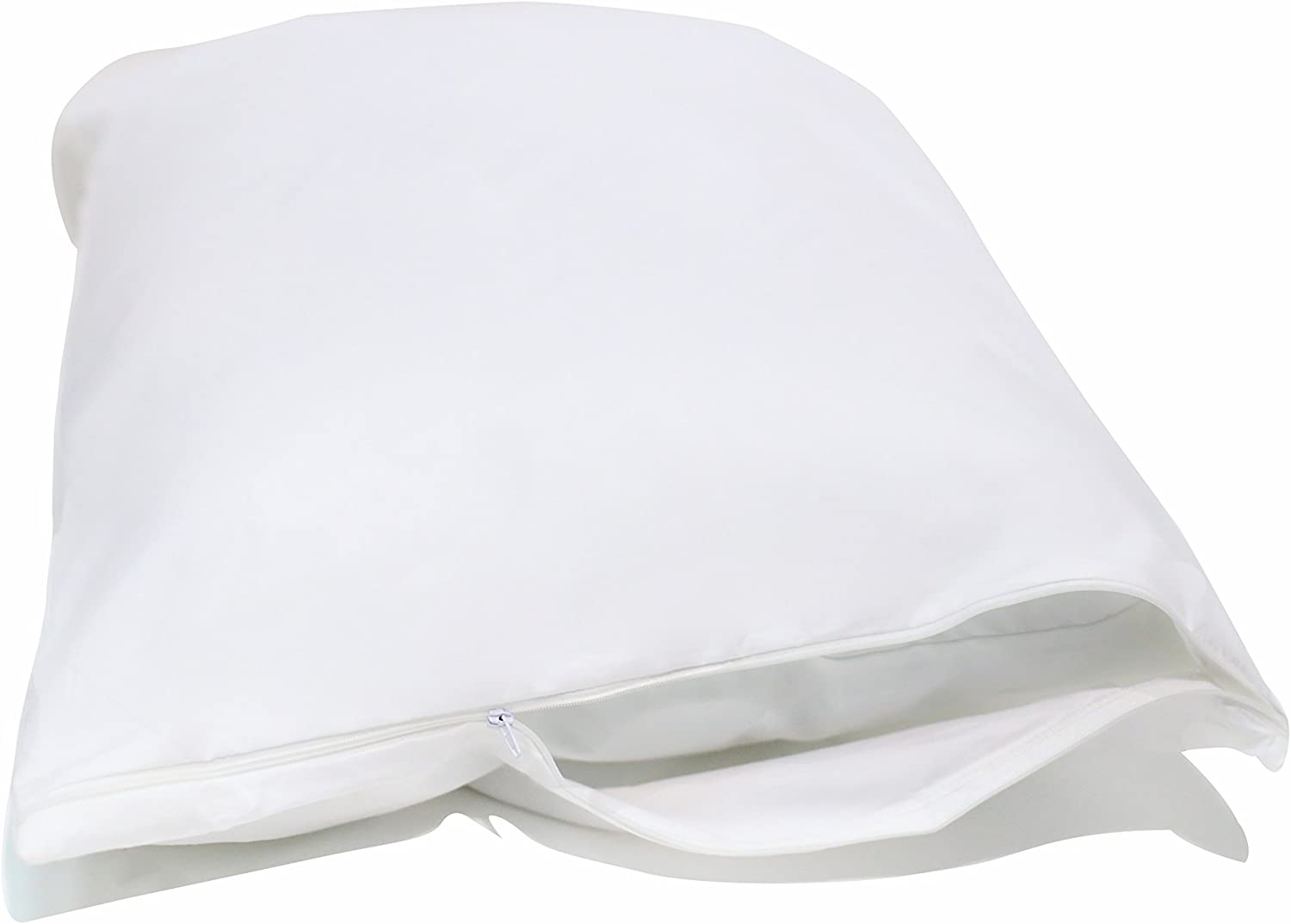 National Allergy Queen 3 Pack Allergy and Bed Bug Proof Pillow Cover, White