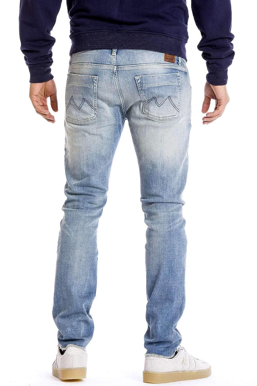 MeltinPot - Jeans Maxi para Hombre, Ajustado, Cintura Baja ...