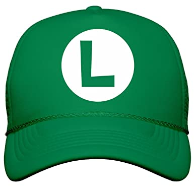 Amazon.com  Green Plumber Costume Hat  Film and Foil Solid Color Snapback  Trucker  Clothing c49e290cb85