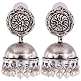 Jewel Fab Art Wonderful Designer Silver Beads 925 Silver Plated Earring