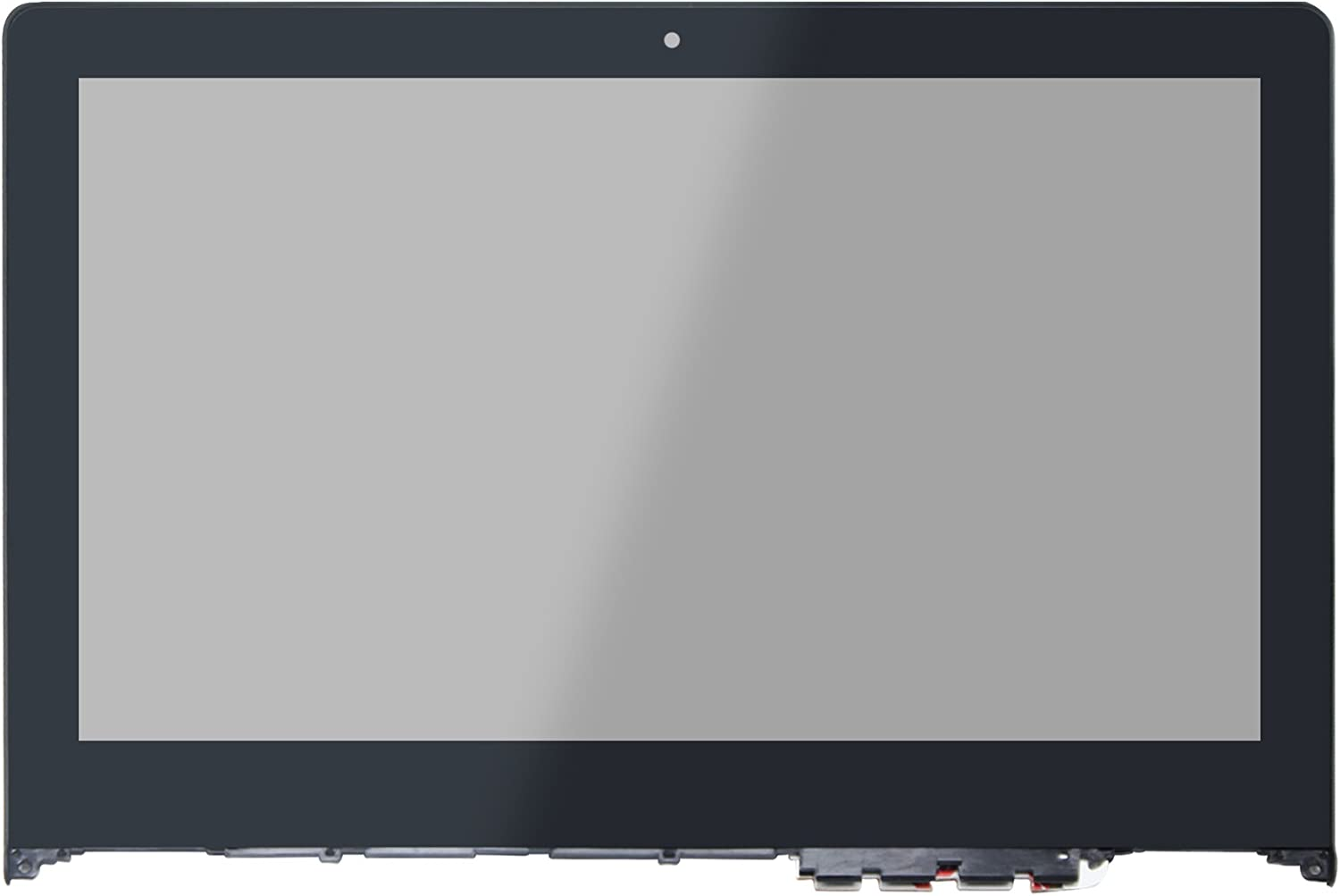 LCDOLED Compatible 11.6 inch FullHD 1080P IPS N116HSE-EBC LED LCD Display Touch Screen Digitizer Assembly + Bezel Replacement for Lenovo Yoga 700 700-11ISK 80QE 80QE004YUS 80QE004CUS 80QE004BUS etc.