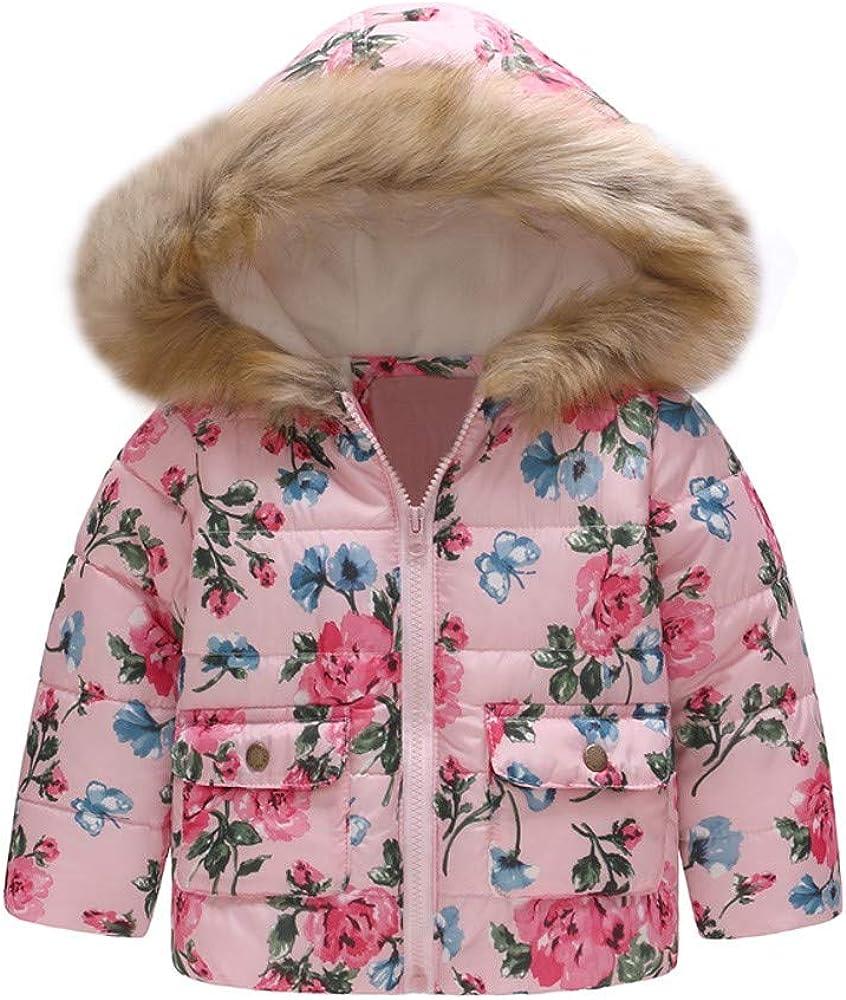 Theshy Baby Infant Girls Autumn Winter Velvet Coat Cloak Jacket Thick Warm Clothes Winter Coat Jacket
