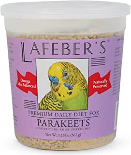 product image for LAFEBER'S Premium Daily Diet or Gourmet Fruit Pellets Pet Bird Food, Made with Non-GMO and Human-Grade Ingredients, for Parakeets