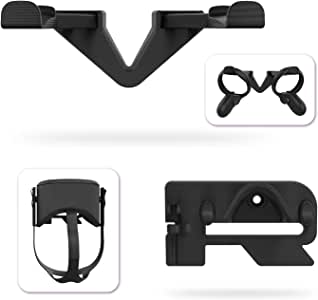 AMVR VR Wall Hook Stand for Oculus Quest Headset and Touch Controllers