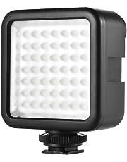 Andoer CN-LUX480 - Lámpara LED de vídeo para cámara Canon Nikon y videocámara