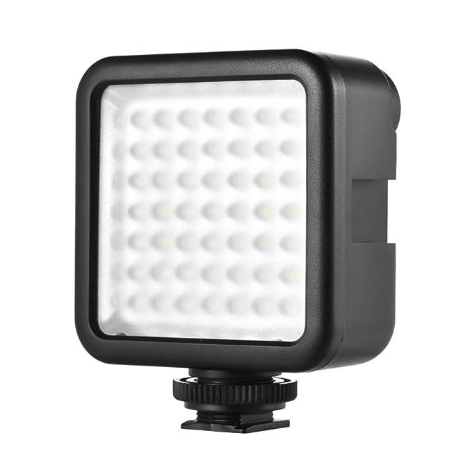 150 opinioni per Andoer W49 Faretto a LED Mini per Canon Nikon Sony A7 DSLR