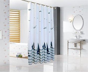 Tende Da Doccia In Tessuto : Tende per vasca da bagno interdesign color verde da acquistare