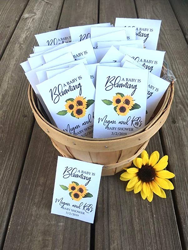 35 flower seed packets flower seeds - Expecting a Baby Flower Seed Favors Baby shower favors Baby Shower Favor Baby in Bloom