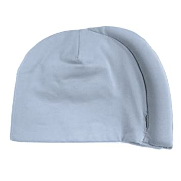 774d84edd Amazon.com: Tortle Repositioning Beanie - FDA cleared to Prevent and Treat  Flat Head Syndrome - Baby Blue - LG: Baby