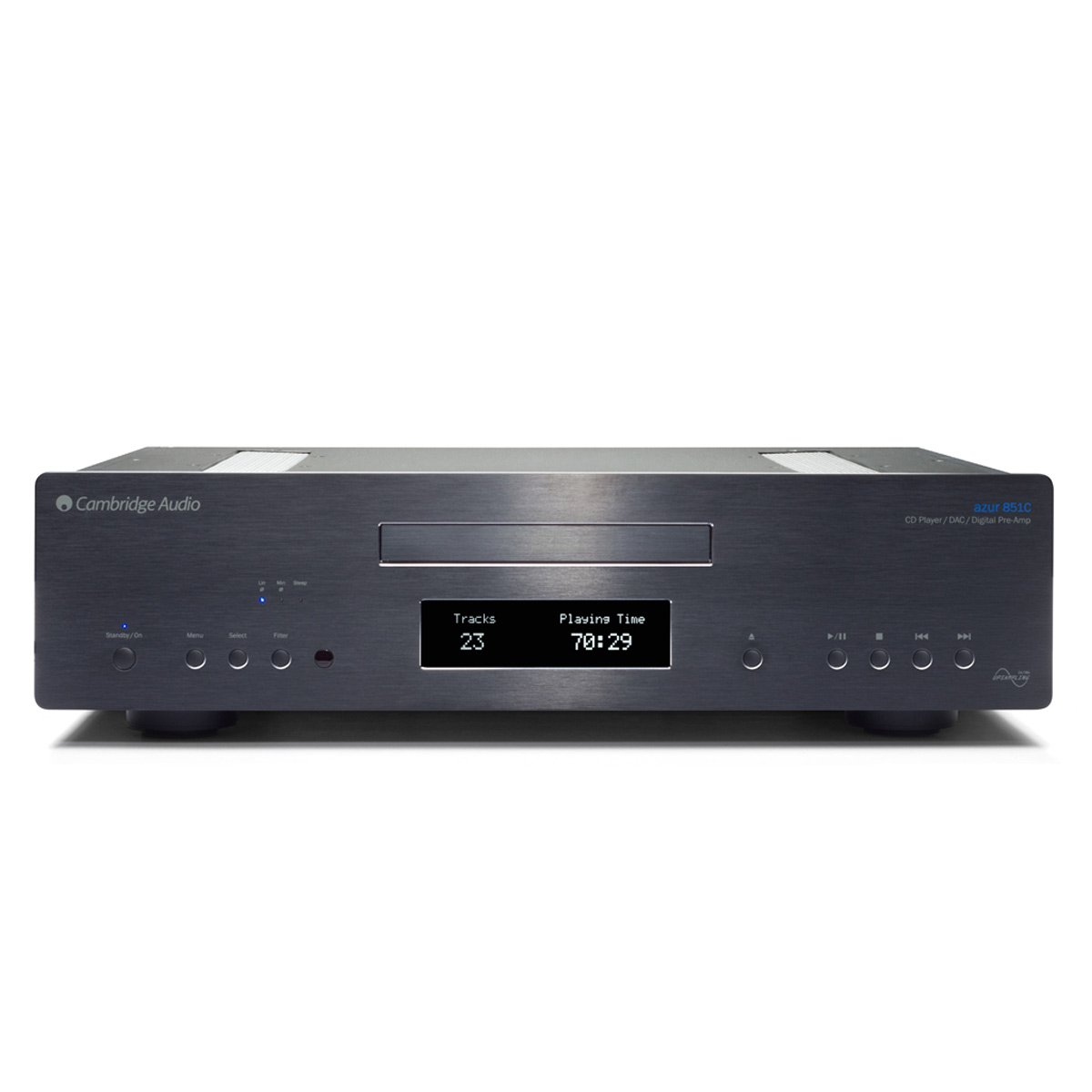 Cambridge Audio Azur 851C Upsampling DAC, CD Player & Preamplifier - Black