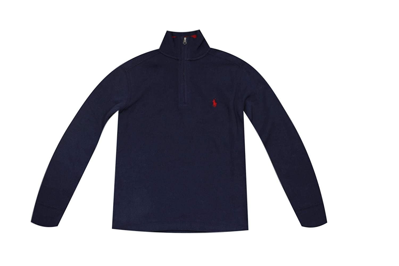 Polo Ralph Lauren Boys Half-Zip Sweater