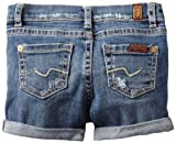 61cKplhmjmL. SL160  7 For All Mankind Baby girls Infant Midroll Shorts, Baywater Blue, 12 Months