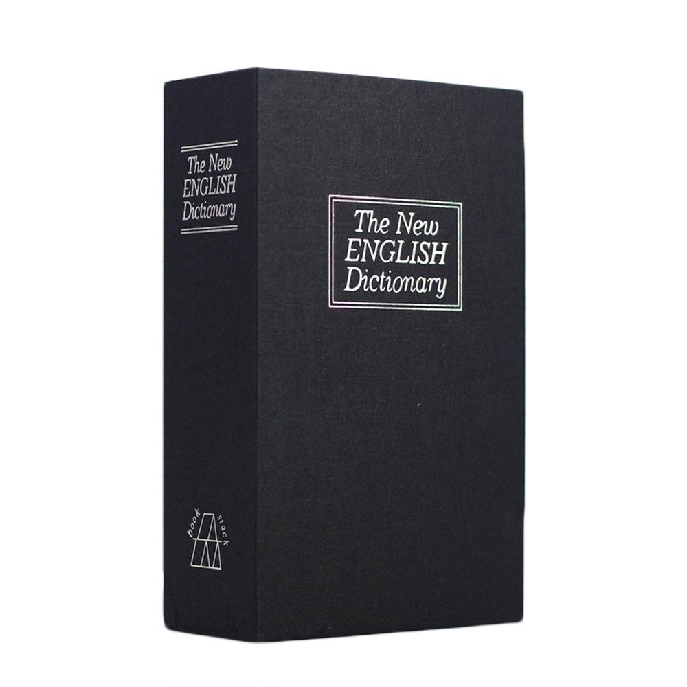 Greek Art辞書Diversion Book Safe with組み合わせコードロック ブラック B01M5DSQYB ブラック ブラック