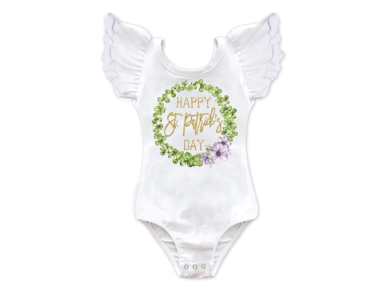 e9e1b7a09 Amazon.com  Girls Happy St. Patricks Day Leotard  Handmade
