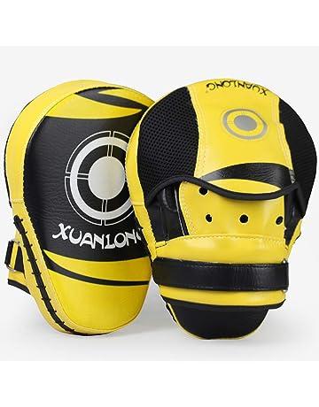 Desconocido Muay Thai Pad Material el/ástico Alto//Gran Resistencia a los Golpes Grande Kickboxing Training Pad PU Strike Shield para Taekwondo//MMA//Karate Training