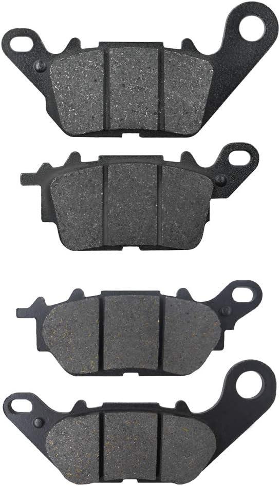 N-MAX//2DS1 2015-2017 Compatible para pastillas de freno delanteras y traseras de motocicletas YAMAHA GPD 125 A