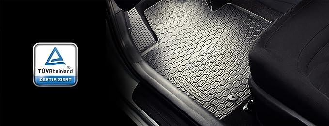 Ame Prime Auto Gummimatten Fußmatten Im Wabendesign Anti Rutsch Oberfläche Geruch Vermindert Und Passgenau 891 3c Auto
