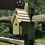 Bluebird Manor Bird House in Pinion Green