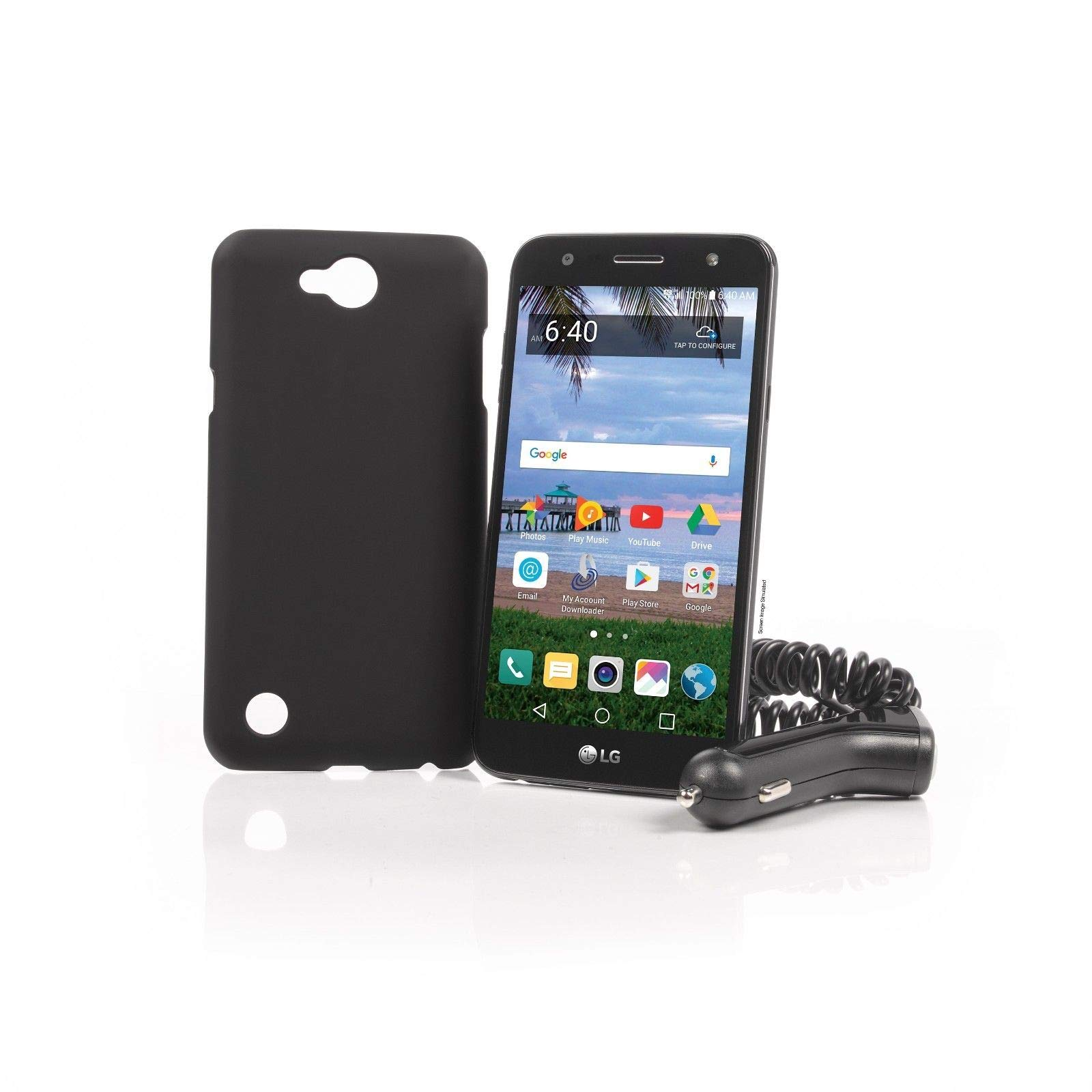 Tracfone LG Fiesta 2 Phone + 1 Year of Service with 1200 MIN/1200 Text/1200MB