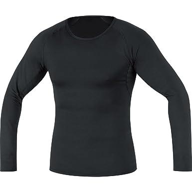 GORE RUNNING WEAR Cálida camiseta interior térmica de hombre, Manga larga, Elástica, GORE
