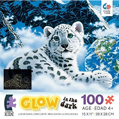 Ceaco Schimmel Glow In The Dark Bed Of Clouds Jigsaw Puzzle By Ceaco