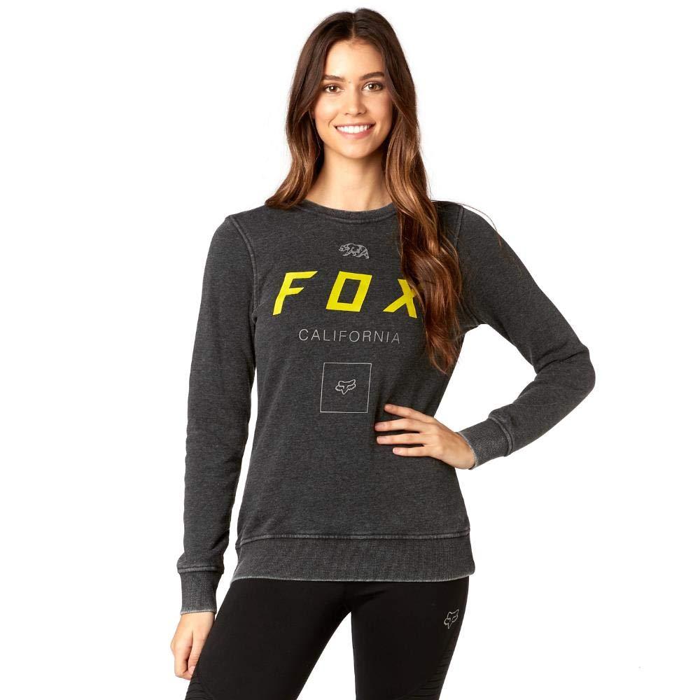 Fox Racing - Sudadera - Sudadera - para mujer negro negro S: Amazon.es: Ropa y accesorios