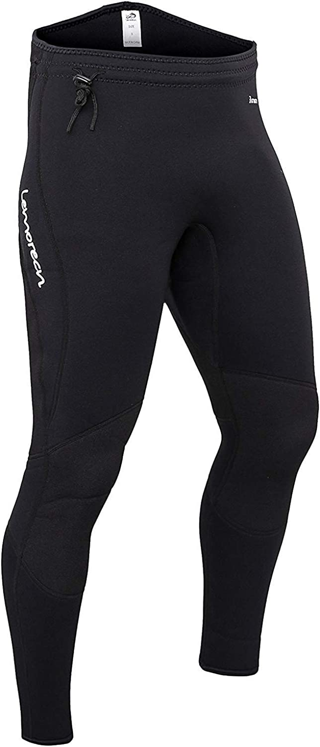 Lemorecn Wetsuits Pants 3mm Neoprene Swimming Canoeing Pants