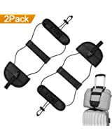 ONSON Bag Bungee, 2Pack Luggage Straps Suitcase Adjustable Belt Carry On Bungee Travel Accessories, Lightweight and Durable, Providing A Big Space for Trip