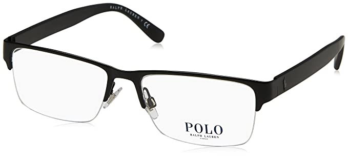 a7a14852966b Polo Men's PH1164 Eyeglasses Matte Black 56mm at Amazon Men's ...