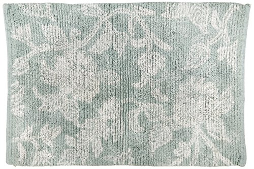 Park B. Smith Floral Swirl Cotton Bath Rug, 20 by 30-Inch, (Park B Smith Rug)