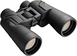 Olympus Binocular 10x50 S Including Strap, case and 15-Year Warranty. Sharp Details, Natural Colours, Wide Field of View, Lightweight - Ideal for Nature Observation, Birdwatching and Concerts