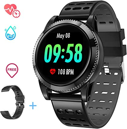 Smart Watch for Men Women with Heart Rate
